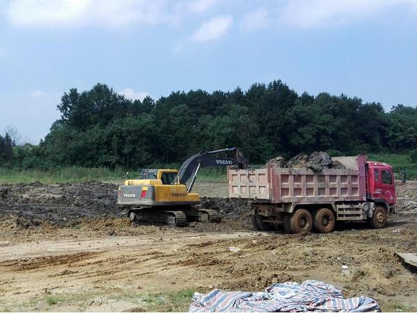 湖北省某染农田修复项目